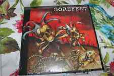"""NEW Gorefest 12"""" Double 2 LP RED Vinyl Rise To Ruin Limited Edition Metal"""