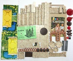 Exin Castillos 2 0202 Vintage Gran Alcazar Castle Building Block Toy Set Base