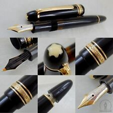 1st Edition Montblanc 144 Fountain Pen - 14K OF Flex Nib - Made In Germany c1950