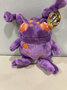 Neopets  purple `Faerie Grundo Plushie with tag brand new Rare