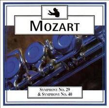 MOZART: SYMPHONIES 29 & 40 ETC - CD (1998) GEORGE RICHTER / BERNHARD PAUMGARTNER