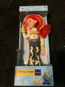 "Disney Parks Collectors Talking Jessie Toy Story Pull String 16"" Figure Doll New"