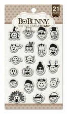 New Bo Bunny Clear Stamps Stamps Festive Emoji Stamps
