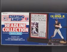 1993 Kenner Starting Lineup Cal Ripken Jr. Headline Collection Sealed Box