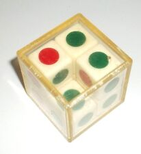 vintage VARIKON CUBE 2x2x2 Red-Green twisty puzzle rubik's type logical toy