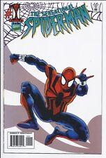 Sensational Spider-Man #1 white variant NM- (Marvel, 1995)