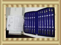 Bakes Rosebud Urethral Sounds set of 13 pcs            German Stainless Steel