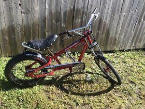Original Orange County Choppers OCC Schwinn Spider Bike Stingray Red Complete