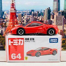 Tomica 64 Ferrari 488 GTB