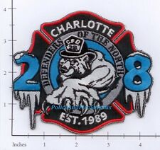 North Carolina - Charlotte Station 28 NC Fire Dept Patch  Defenders of the North