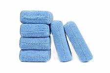 "6 Pcs, Microfiber Auto Detailing Polish Wax Applicator 5"" x 3"" x 1"""