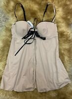 Esmara beige padded Camisole Top sleepwear nightwear size it3b us34b eu75b
