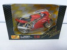 Maisto Ducati Motorcycle Red (1) 1:18