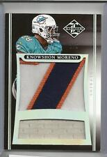 2014 Limited Football Knowshon Moreno Jumbo Patch Card # 2/5