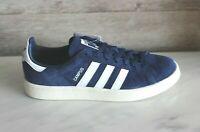 Adidas Originals Campus Navy Blue Men's Vintage Sneakers Retro Shoes Sz 8 Suede