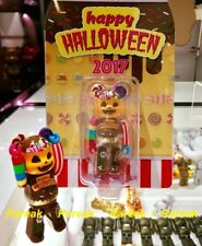 Medicom Be@rbrick 2017 Happy Halloween 100% Trick or Treat Bearbrick 1pc