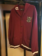 Ralph Lauren Polo Boating Cardigan Size XXL Maroon