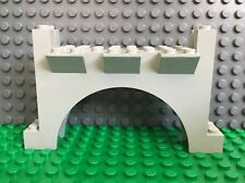 LEGO Old Light Gray Brick, Arch 2 x 12 x 6 with Grooves - King Leo's Castle 6091
