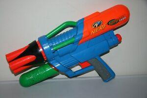 LaRami Vintage Nerf Supermaxx 1500 Air Pressure Nerf Gun - 1997 - Pre Owned RARE
