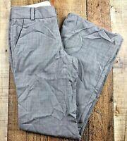 "Banana Republic Martin Fit Light Gray Lined Women's Pants Size 0  26x31"""