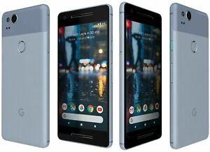 Factory Unlocked Google Pixel 2 64GB 128GB Blue Black White Verizon TMobile ATT