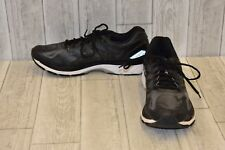 Asics Gel Nimbus 19 Running Shoes-Men's size 14 Onyx/Silver