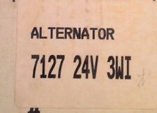 Alternators # 7127 24V 3WI RE-MANUFACTURED By Robert's & Son