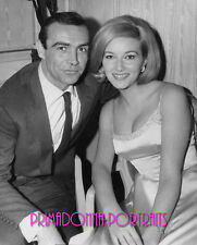 """SEAN CONNERY 8x10 Lab Photo 1963 """"FROM RUSSIA WITH LOVE""""JAMES BOND Portrait"""