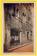 cpa RARE 83 - BRIGNOLES (Var) MAISON des LANCIERS Cordonnier JOURDAN