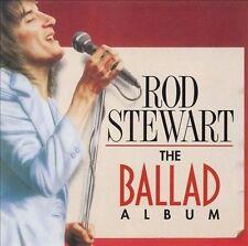 Rod Stewart the Ballad Album CD - Free Shipping - New Sealed!!