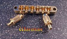 Tune-O-Matic style gold guitar bridge from Warman Guitars