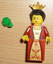 Lego Ritter Prinzessin / Burgfrau mit Frosch + 2 Gesichter