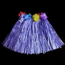 Kids Boys Girls Hawaiian Hula Grass Beach Skirt Flower Party Dress X1 F RW