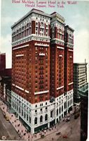 Vintage Postcard - Largest Hotel In World McAlpin Hotel New York NY #3175