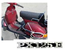 VESPA PX125E LOGO LATERALE SIGLA sticker adesivo cromo EMBLEMA STEMMA