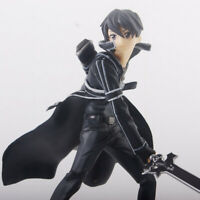 "Anime Sword Art Online SAO Kirito Kirigaya Kazuto 6.3"" Action Figure Toy Bulk"