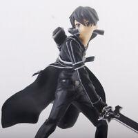 "Anime Sword Art Online S.A.O. Kirito Kirigaya Kazuto 6.3"" Action Figure Toy Bulk"