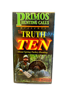 Primos presents The Truth 10: About Spring Turkey Hunting VHS~NEW/Sealed