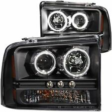 Headlight Set-Projector with Halo AUTOZONE/ANZO 111117