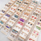 Wholesale 50pairs/Lot Mix Style Fashion Studs Jewelry Earrings For Women