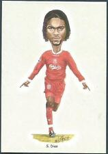 LIVERPOOL FOOTBALL CARDS-2002- #05-SALIF DIAO