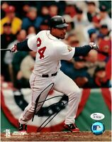 Manny Ramirez Boston Red Sox Autographed 8x10 Photo JSA