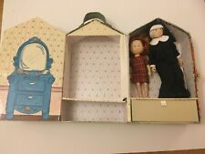 Madeline Eden doll house case with 2 dolls Madeline and Ms Clavel Nun