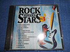 ROCK SUPER STARS VOL. 3 Joe Cocker, Queen, Tina Turner, ua. Rock CD 15 Tracks!!!