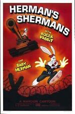 Who framed Roger Rabbit Movie Poster Hermans Shermans 24x36