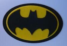 1 edible LARGE BATMAN LOGO 15cm cake topper DECORATION super hero COMIC