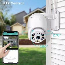 Wireless Outdoor 1080P WIFI IP Camera CCTV HD PTZ Smart Home Security IR Vision