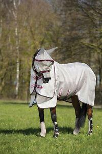 Horseware Rambo Fly Plus Vamoose Fliegenschutz, Fliegenmaske- UV-Schutz