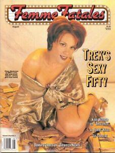 Femme Fatales Volume 6 Number 2 film magazine August 1997 Star Trek Issue
