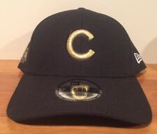 separation shoes 79545 9c6c2 Chicago Cubs Gold 2016 World Series Champions NEW ERA 9FORTY Hat Cap Strap